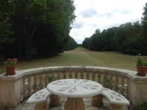 Chateau terrasse