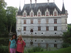 Mysteries of the Loire Valley: Azay-le-Rideau, Roland C Colton, France, travel
