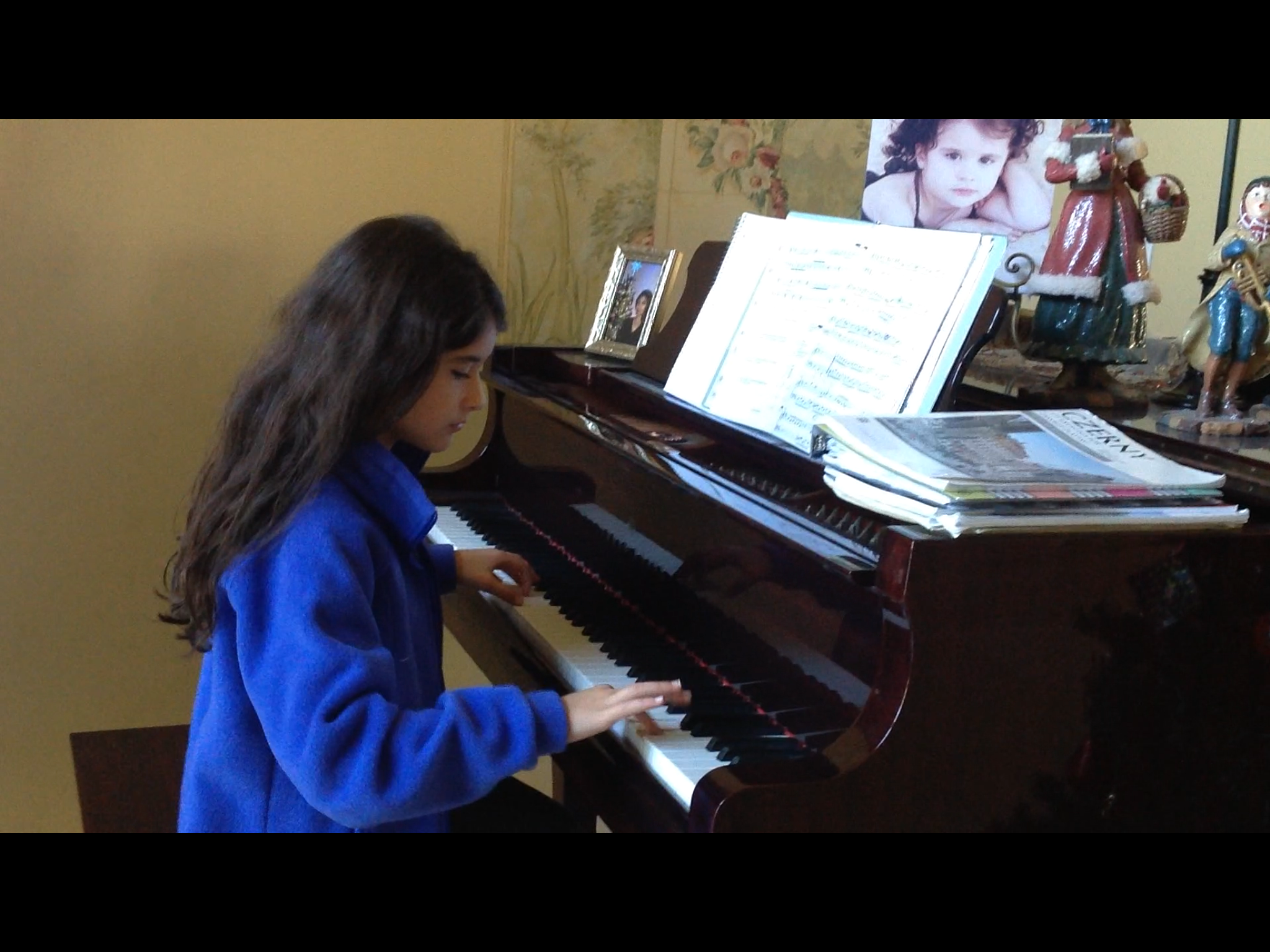 Competing for First Prize–Piano Competition