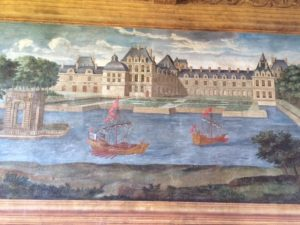 GIZEUX-Chateau with lake