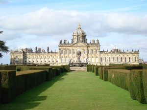 How Magnificent Estates Make Wonderful Novel Settings, castle-howard, Roland Colton, @rolandccolton